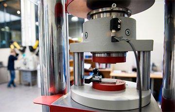 Лабораторные испытания строительных материалов